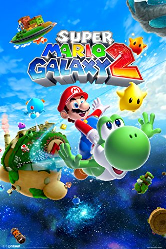 Pyramid America Super Mario Galaxy 2 Video Game Cool Wall Decor Art Print Poster 12x18