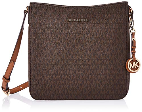 MICHAEL Michael Kors Jet Set Travel Large Messenger Brown One Size