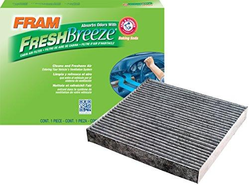 FRAM Fresh Breeze Cabin Air Filter with Arm & Hammer Baking Soda, CF10134 for Honda Vehicles