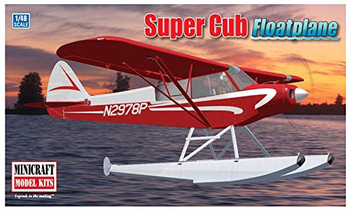 Minicraft Piper Super Cub Floatplane 1/48 Scale