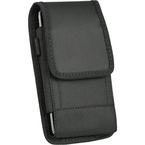 DW Heavy Duty Rugged EVA Canvas Carry Case for Blu Studio Energy X Plus 2, Pure XR, Vivo 5R, Vivo XL2, Vivo XL3, Vivo XL, Vivo 8, Vivo 8L, Life One X3, R1 Plus, Pure View, Vivo XI+, Vivo XL4, Vivo XI