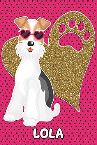Foxy Life Lola: College Ruled | Composition Book | Diary | Lined Journal