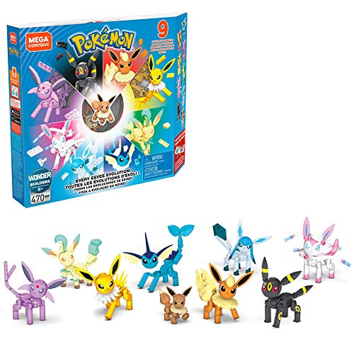 Mega Construx Pokémon Every Eevee Evolution!
