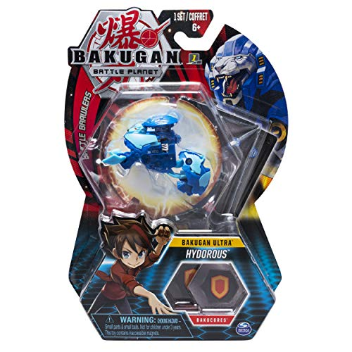 Bakugan Ultra, Hydorous, 3-inch Collectible Action Figure and Trading Card, for Ages 6 and Up