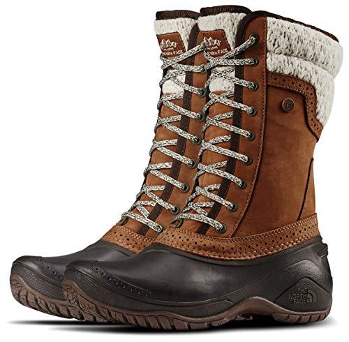 The North Face Shellista II Mid Snow Boot, Dachshund Brown/Demitasse Brown, 7