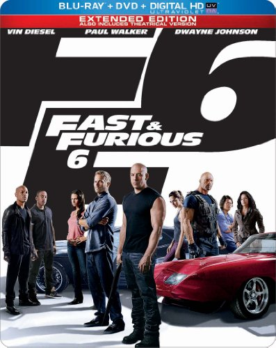 Fast & Furious 6 Limited Edition Blu-ray Steelbook