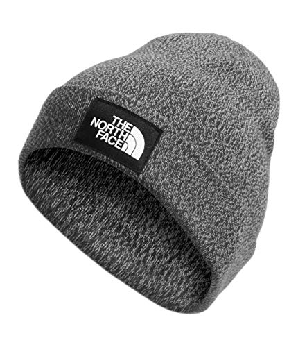 The North Face Dock Worker Recycled Beanie, TNF Dark Grey Heather, OS