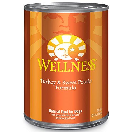 Wellness Complete Health Turkey & Sweet Potato Formula Canned Dog Food, 12.5 Ounces, Pack of 12