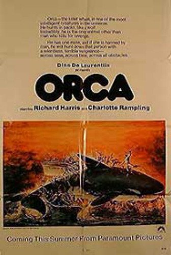 Orca Richard Harris Charlotte Rampling Rare