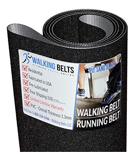 Walking Belts LLC - AFG Sport 3.5AT S/N:TM659B 2015 Treadmill Running Belt 1ply Sand Blast + Free 1oz Lube