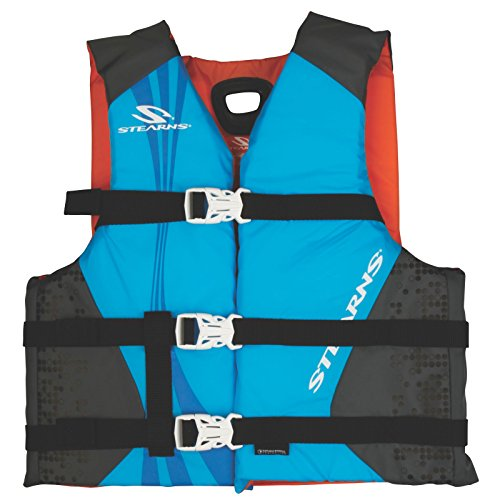 Stearns Antimicrobial Nylon Youth Vest, Blue