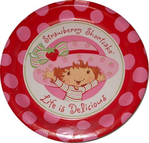 Designware Strawberry Shortcake Large Paper Plates (8ct)