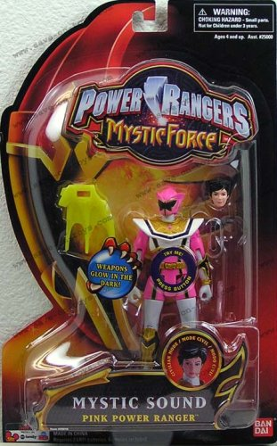 Power Rangers Mystic Force Mystic Sound Pink Power Ranger 5 Inch Action Figure