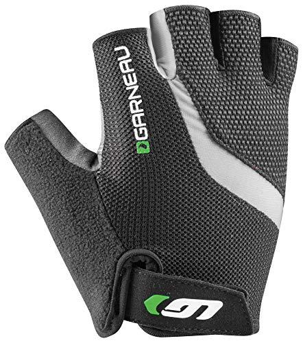 Louis Garneau - Men's Biogel RX-V Bike Gloves, Gray/Green, X-Large