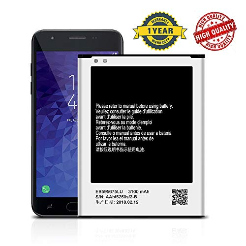 for Samsung Galaxy Note 2 T889 Replacement Battery EB595675LU