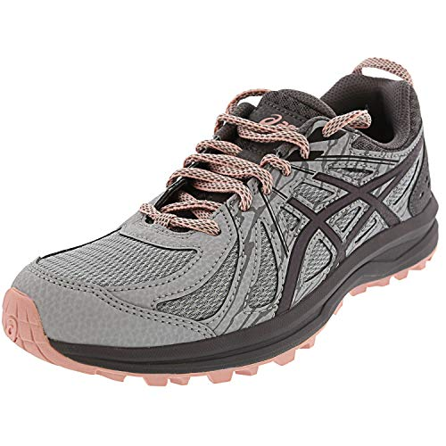 ASICS Women's Frequent Trail, Mid Grey/Carbon, 9 D