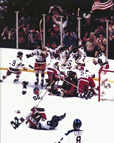 NHL Collectibles Hockey Miracle On Ice 1980 US Olympic Hockey - 8'x10' Photo