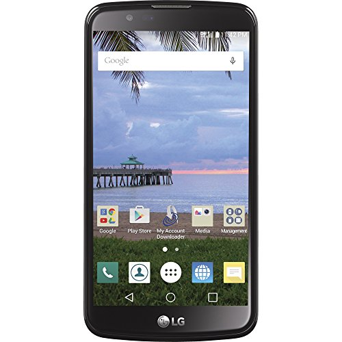 TracFone LG Premier 4G LTE Prepaid Smartphone with Amazon Exclusive Free $40 Airtime Bundle