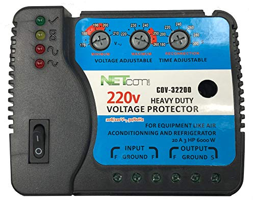 COV-32200 Voltage and Surge Protector for AIR Conditioning Inverter Mini Split 240v 220V