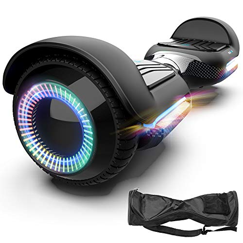 Magic hover 6.5 Inch Swift with Flashed Wheel Smart Self Balanceing Scooter with Music Speaker App-Enabled Hoverboard UL2272 Certificated