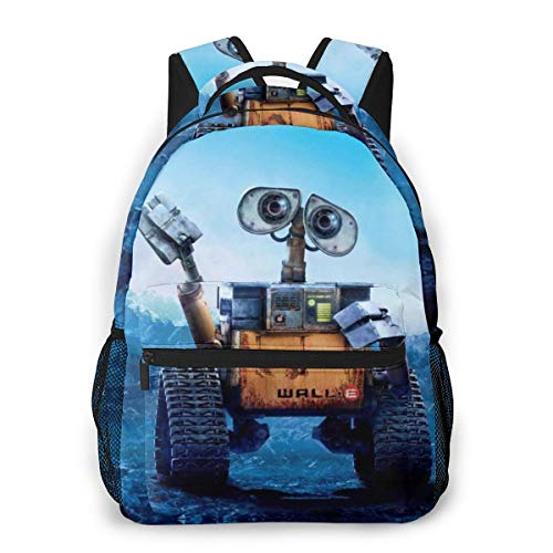 Kids Unisex Backpack Rucksack Film_Walle Running Travel School Bag for Boys/Girls/Kids