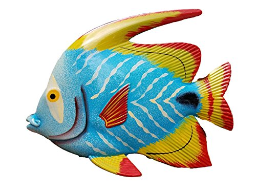 Large 10' x 7.5' Acrylic Resin Decorative Indoor/Outdoor Tropical Fish Wall Decor