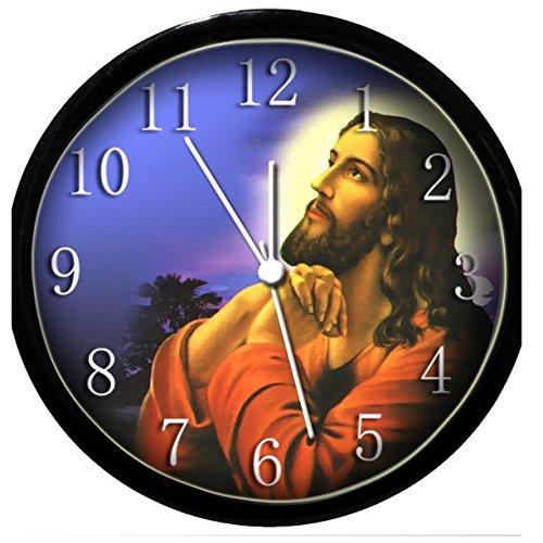 Krazy Klockz Glow in The Dark Wall Clock - Jesus Praying