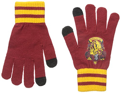 Harry Potter Gryffindor House Crest Anti-Slip Touchscreen Adult Texting Gloves