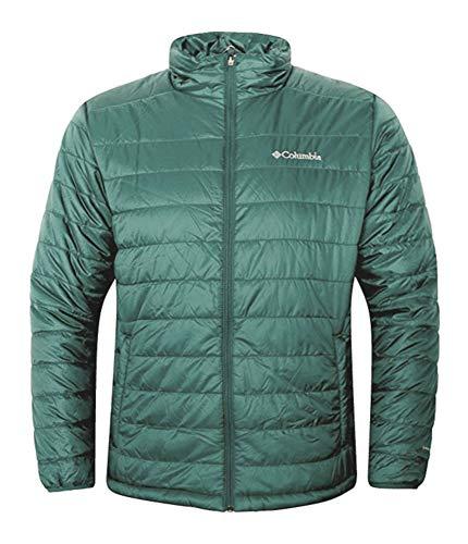 Columbia Men's Crested Butte II Omni-Heat Jacket (Poseidon, XXL)