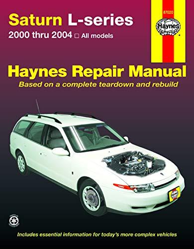 Haynes Saturn L-Series, 00-'04 Technical Repair Manual