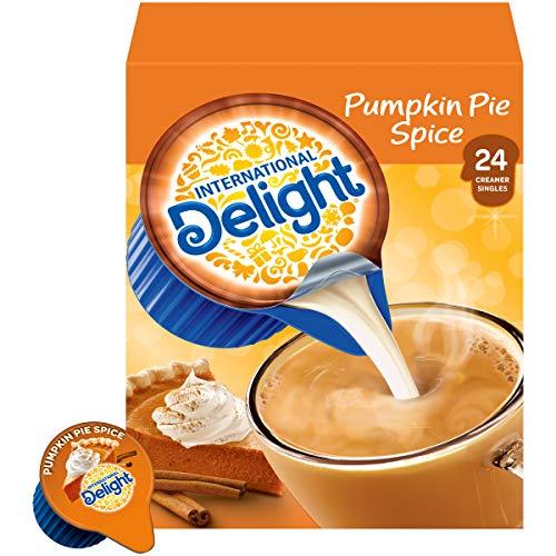International Delight Coffee Creamer Singles, Pumpkin Pie Spice, 24 Count (Pack of 6)
