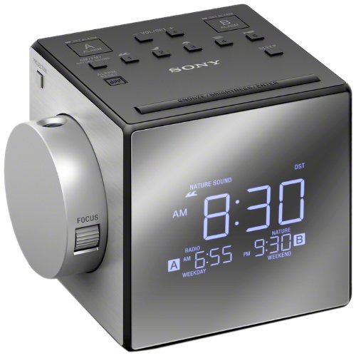 Sony ICFC1PJ Alarm Clock Radio,Black