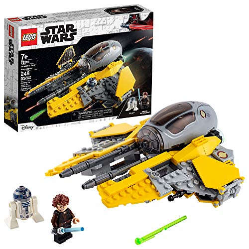 LEGO Star Wars Anakin's Jedi Interceptor 75281 Building Toy for Kids, Anakin Skywalker Set to Role-Play Star Wars: Revenge of The Sith and Star Wars: The Clone Wars Action, New 2020 (248 Pieces)