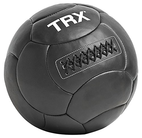 TRX Training Handcrafted Wall Ball with Reinforced Seam Construction, 4 Pounds (1.8 kg)