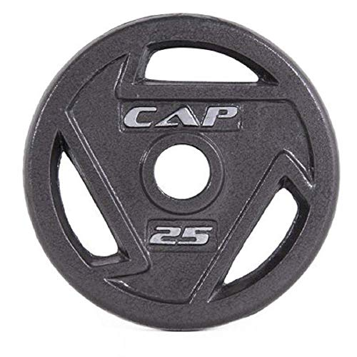CAP Barbell 2-Inch Olympic Grip Plate (25 Lbs x 2)