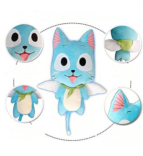 cosplaywho Fairy Tail Happy Plush Handmade Toy 12''