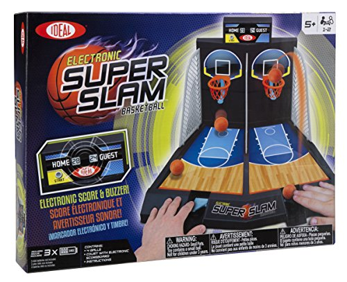 Ideal Electronic Super Slam Basketball Kids Tabletop Game