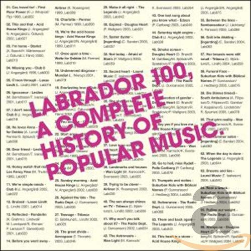 Labrador 100: History Of Popular Music [4 CD]