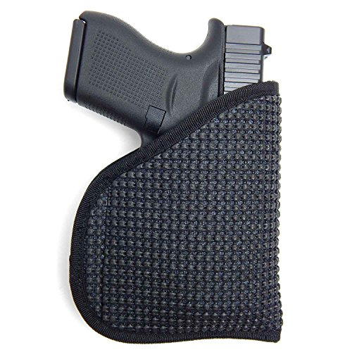 Active Pro Gear IWB/Pocket Concealed Carry Holster | Non-Slip Clipless Friction held Holster for Concealed Carry (Glock: G42)