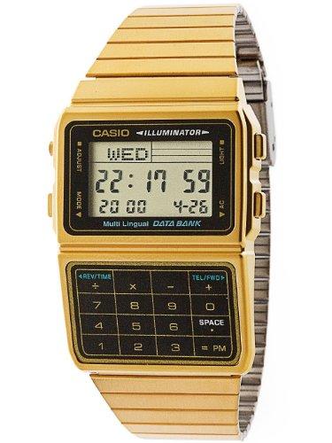 Casio DBC611G-1D Casio Gold & Black Digital Watch - Gold / One Size