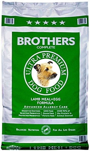 Brothers Complete Lamb Meal And Egg Advanced Allergy Formula, 25-Pound