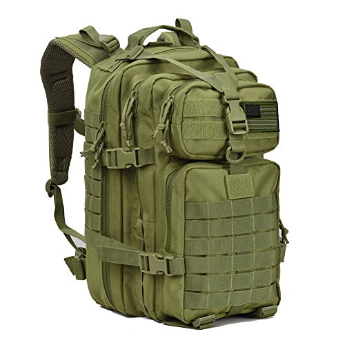 Military Tactical Assault Backpack Small 3 Day Assault Pack Army Molle Bug Bag Backpacks Rucksack Daypack for Outdoor Hiking Camping Hunting Army Green