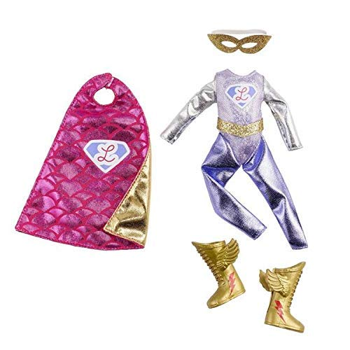Lottie Doll Outfit Super Clothing Set | Best Fun Gift for empowering Kids Ages 3 & up
