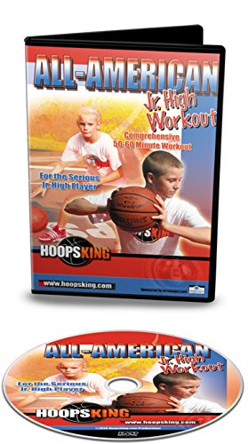 HoopsKing All-American Jr. High Basketball Workout Training Video, Comprehensive & Intense Workout