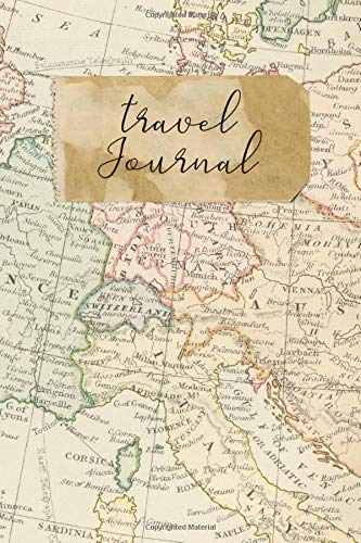 Travel Journal: 6' x 9' Lined Blank Softcover 150 Page Notebook