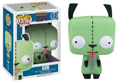 Nickelodeon Invader Zim Pop! Television Gir Vinyl Figure #12