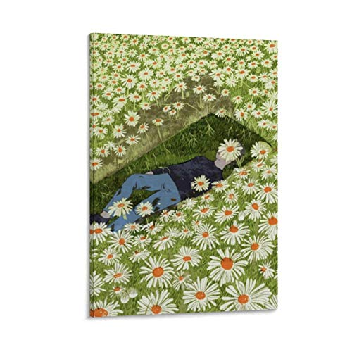 Anime Art Poster Pushing Up The Daisies Poster Decorative Painting Canvas Wall Art Living Room Posters Bedroom Painting 12x18inch(30x45cm)