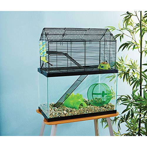 You & Me Small Animal High Rise Tank Topper, 19.25' L X 9.75' W X 11.5' H, 19.25 IN
