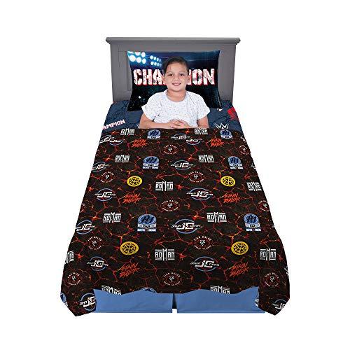 Franco Kids Bedding Soft Microfiber Sheet Set, 3 Piece Twin Size, WWE Super Stars