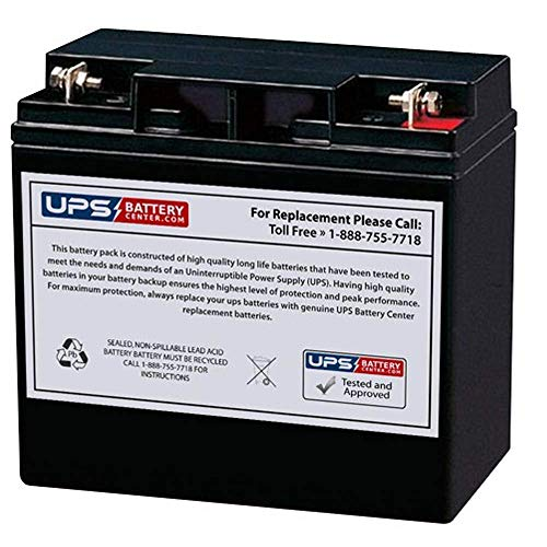 DuroMax XP10000E Portable Generator, 8000 Running Watts/10000 Starting Watts Compatible Replacement Battery by UPSBatteryCenter